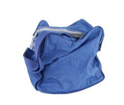 Vintage 90s Pepsi Co Small Nylon Duffel Bag Gym Bag Carry On with Strap ... - $29.65