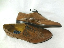Bostonian Florentine Mens Business Brown Leather Shoes~Sz 12M~MADE In Italy~New - $83.77