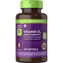 Member's Mark Vitamin D-3 5000 IU Dietary Supplement (400 ct. x 2) - $32.87