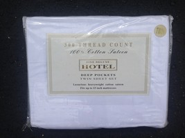 Fine Deluxe HOTEL Full Sheet Set - White - $15.99