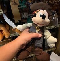 "Disney Parks Exclusive Mickey Mouse Pirates Of The Caribbean 11"" Plushl New - $30.68"