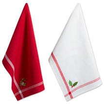 "DII Cotton Christmas Holiday Dish Towels, 18x28"" Set of 2, Decorative Ov... - $21.99+"