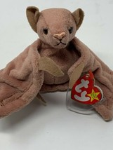 """TY Beanie Baby """"Batty"""" Brown 1996 Retired Stuffed Animal with Tag - $10.88"""