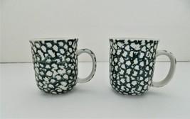 Action3 6  ceramic folk craft moose country 2 mugs  2   1  thumb200