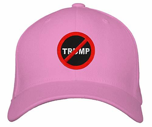 Anti Trump No Trump Hat - Adjustable Unisex Pink - Great Birthday Gift for Mom,