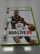 NBA Live 09 (Microsoft Xbox 360, 2008) - European Version - $6.64