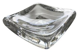 Kosta Boda Hand Blown Glass Trinket Dish [Sweden] - Excellent Condition ... - $28.06