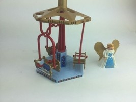 Playmobil Christmas Carousel With Angel - Incomplete Set For Parts - $14.72