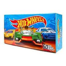 50 Piece Big Hot Wheels Toy Cars Gift Box Assorted Random Styles - $76.59