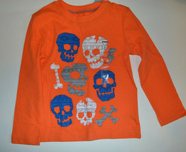 Circo Toddler Boys Long Sleeve T- Shirt with Skull  Size 24M 2T 4T 5T NWT - $7.19