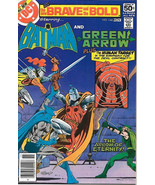 Brave and the Bold Comic Book #144 DC Batman and Green Arrow 1978 NEAR MINT - $10.69