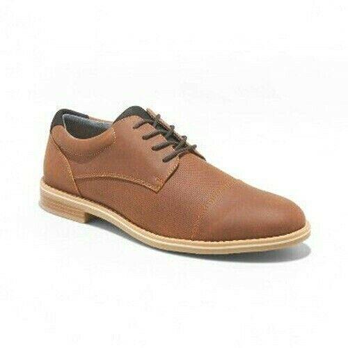 Goodfellow & Co.Jamarcus Marron Faux Cuir Robe Oxford Chaussures 12 Nwt