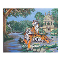 Two Tigers Landscape 14x11 Print - $14.99