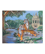 Two Tigers Landscape 14x11 Print - $14.99