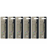 6x Parker Quink Flow Ball-Point FINE BLACK Ink Refill  ** LIMITED STOCK ... - $8.88
