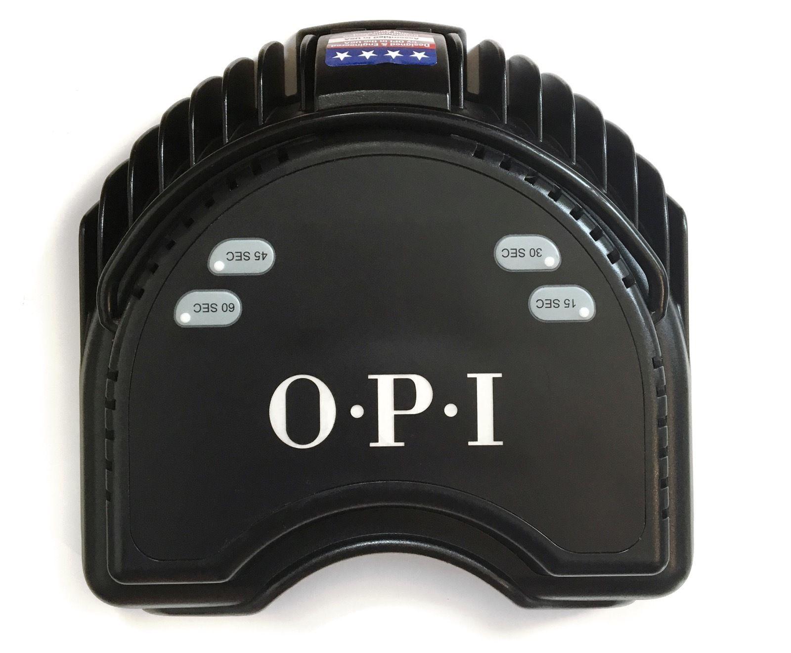 Opi Led Light Lamp Uv Dryer Gel Nail Polish Gelcolor Black