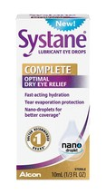 Alcon Systane Complete Lubricant Eye Drops, 0.33 fl oz (10 ml) - $20.39