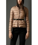 NWT 100% AUTH Burberry London Averton Belted Puffer Down Jakcet $995 - $598.00