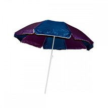 Large Beach Umbrella With Two Part Pole OL499 - $43.06