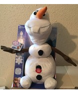 Disney Frozen Pull Apart and Talkin' OLAF Plush Figure - Signature Phras... - $15.51