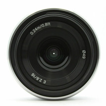 Sony SEL 16F28 16mm F2.8 Lens for Sony E-mount SEL16F28 Displayed - $119.00
