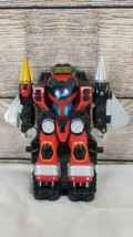 2006 Bandai Power Rangers Operation Overdrive Transtek Armor Machine with Figure - $14.54