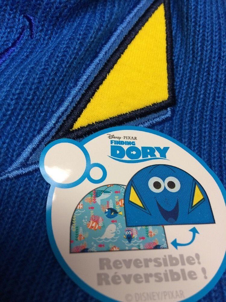 Disney Store Finding Dory Reversible Kids Hat PIXAR Unisex sz XS S 3 - 6 image 6