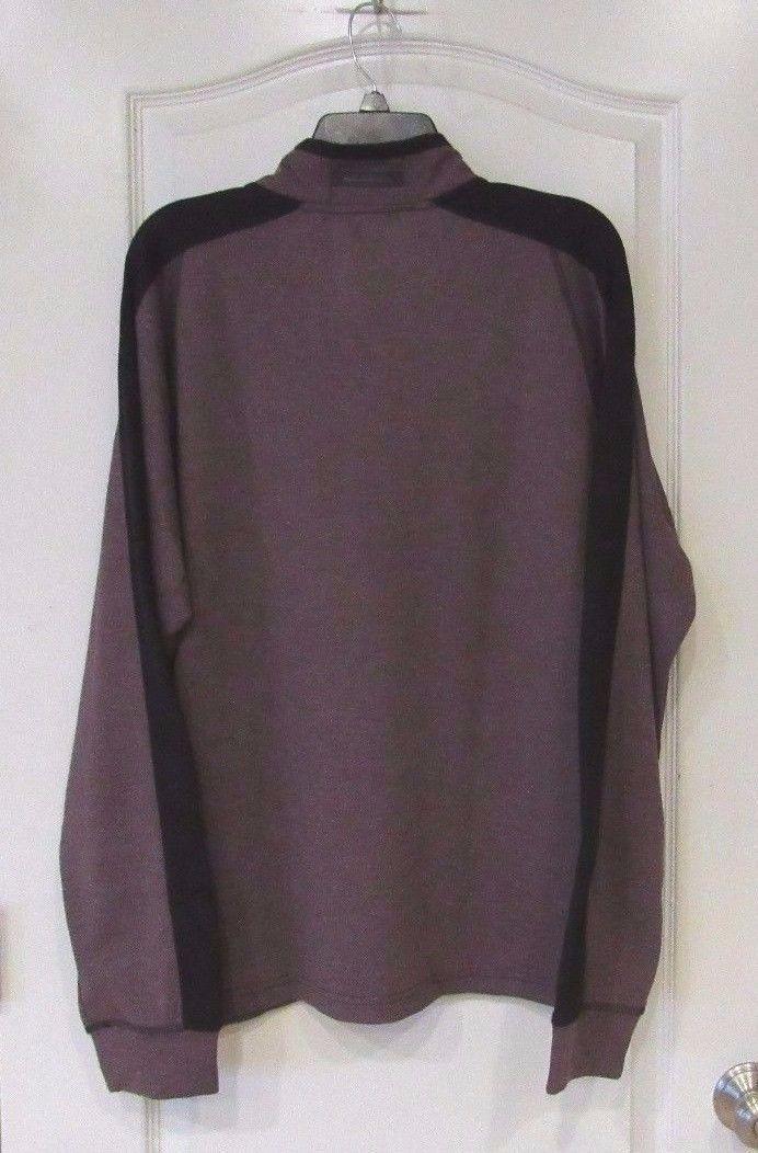 Hawke & Co. Pro Series 1/4 Zip  Pullover Men's Wine HTHR Men's Sz. XL-XXL  NWT