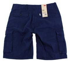 Levi's Men's Cotton Cargo Shorts Original Relaxed Fit Blue 124630160 image 2