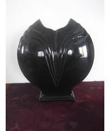 RARE Vintage McCoy Black Vase #466 - $65.44