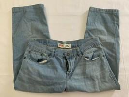Levi's 505 regular blue jeans boys sz 12 husky  Exc Cond - $9.40