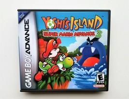 Yoshi's Island Super Mario World Advance 3 - Nintendo Game Boy Advance GBA (USA) image 2
