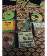8 Recipe PC Programs For Computers Lot - $25.00
