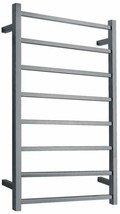 ANZZI Bathroom Electric Towel Warmer 8-Bar Tarnish Resistant Stainless S... - $236.24