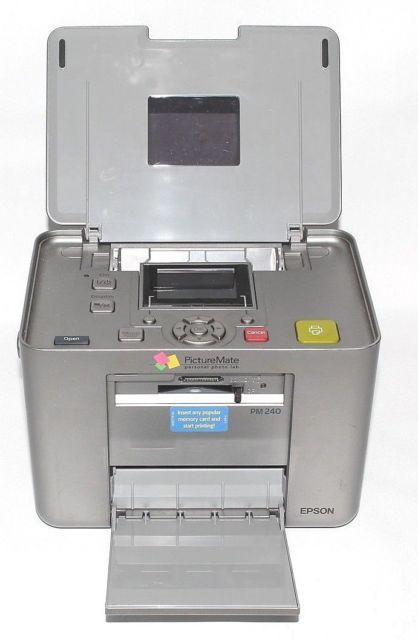 Epson Picturemate Personal Photo Lab Pm 240 And 50 Similar Items