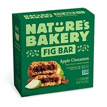 Nature's Bakery Stone Ground Whole Wheat Apple Cinnamon Fig Bars, 6 ct - $9.99