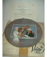 Norman Rockwell New Arrival American Family 1980 Plate w/ Box & COA - $14.99