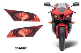 Headlight Eye Graphics Kit Decal Cover For Honda CBR 600RR 2009-2012 COR... - $18.76