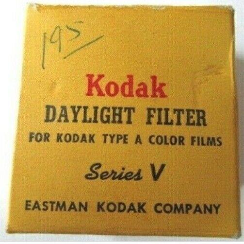 Vintage Kodak Adapter Ring Series V In Original Box -A2 - $12.82