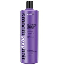 Sexy Hair SMOOTH Sexy Hair Sulfate-Free Smoothing SHAMPOO Anti-Frizz 33.8oz - $25.17