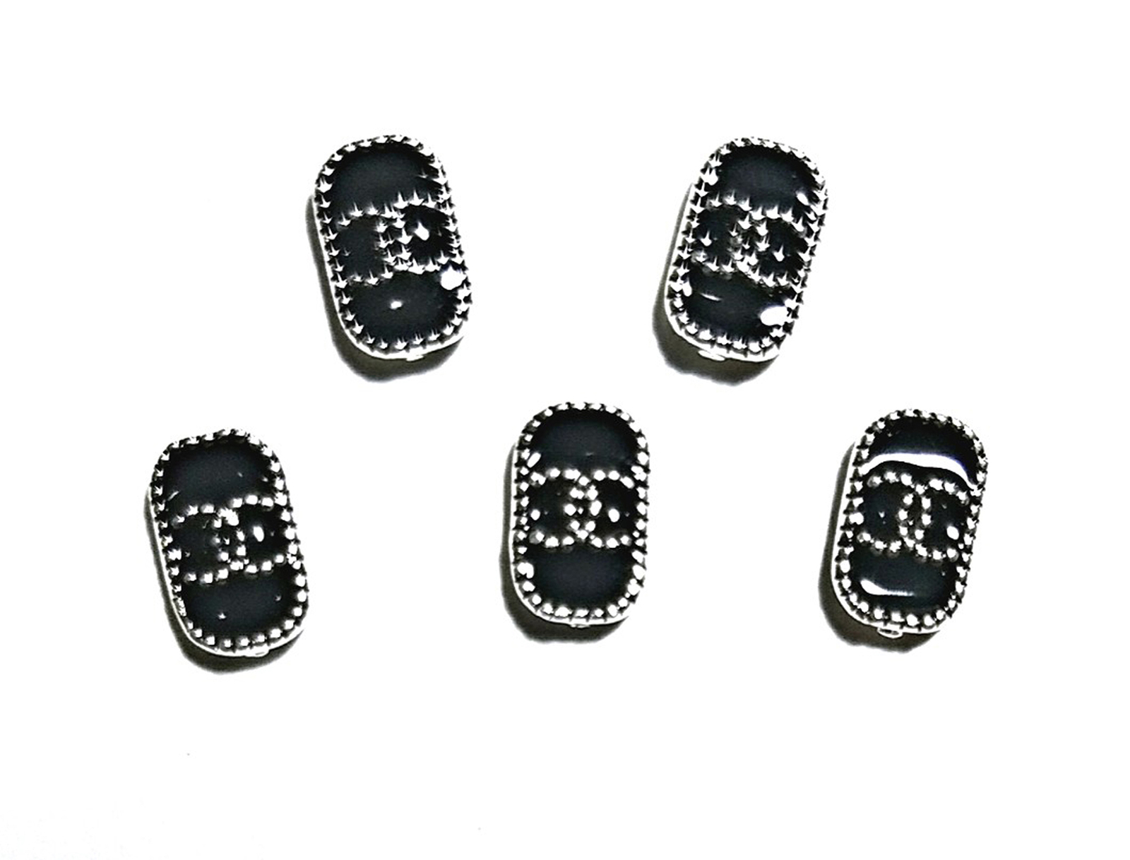 Primary image for 5pc Nail Art Charms 3D Nail Rhinestones Decoration Jewelry DIY Bling C11