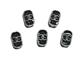 5pc Nail Art Charms 3D Nail Rhinestones Decoration Jewelry DIY Bling C11 - $4.69