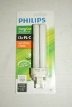 PHILIPS Energy Saver Replacement CFL 13W PL-C Cool White 4100K Light Bulb New - $10.88