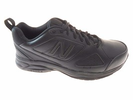 NEW BALANCE 623v3 MEN'S BLACK LEATHER SNEAKER, #MX623AB3 - $46.79