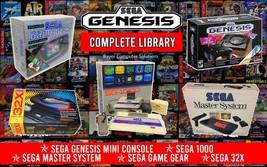 Sega Genesis Mini Classic Retro Game Console (Over 1700 Games) - $189.95