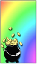 Gold at the End of Rainbow Refrigerator Magnet - $1.99+