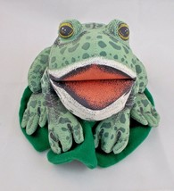 """Tuesday Frog Plush by David Weisner 1995 5"""" Tall Merrymakers Stuffed Animal - $22.62"""