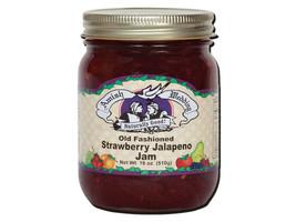 Amish Made Strawberry Jalapeno Jam - 18 oz  - 2 Jars - FREE SHIPPING - $18.69