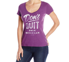 Large 12-14 Life is Good Women's Don't Quit Your Daydream Tee T-Shirt Shirt