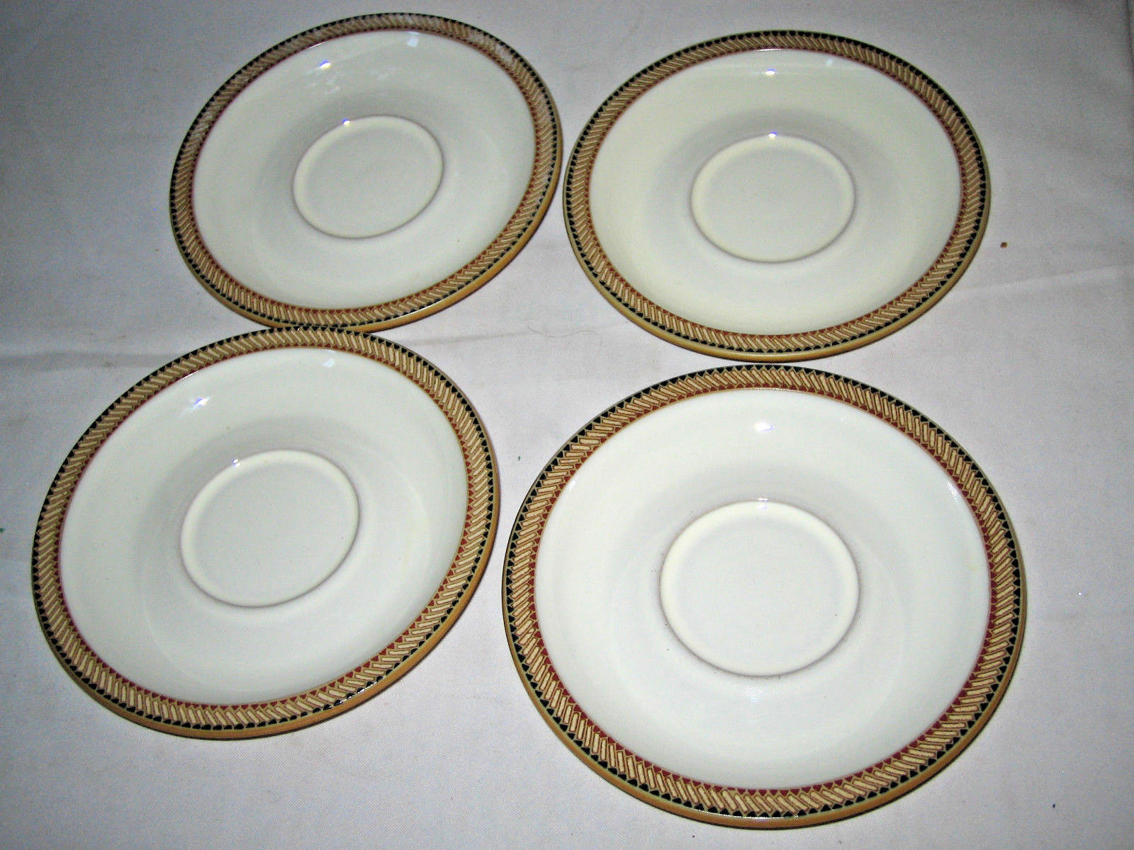 4 Denby Luxor Saucer Plates Excellent and 50 similar items